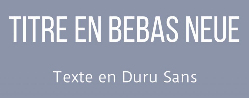 typo typographie sans sérif police